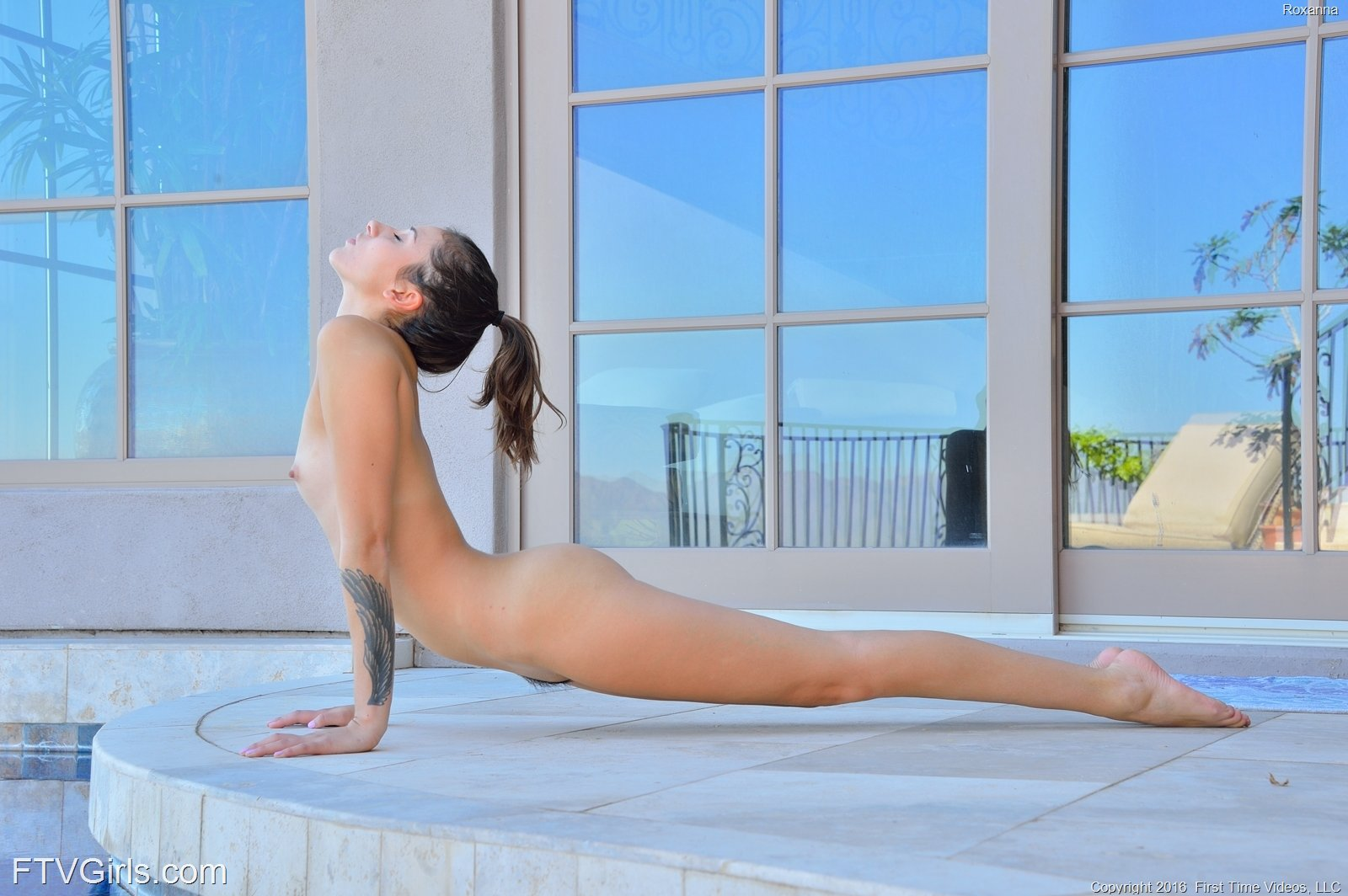 Roxanna In A Nude Yoga Finish By Ftv Girls 16 Photos -4554