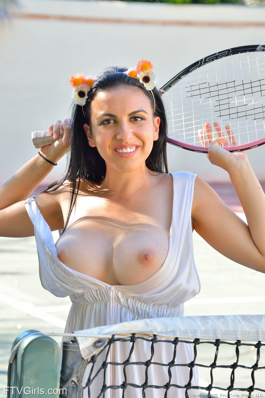 Saraya in On The Courts by FTV Girls (12 photos + video ...