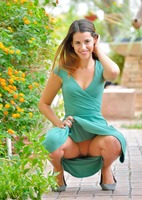 Chloe in Pretty Girl In Green by FTV Girls (nude photo 8 of 16)
