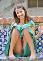 Chloe in Pretty Girl In Green by FTV Girls (nude photo 12 of 16)