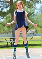 Sharlotte in Schoolgirl Style by FTV Girls (nude photo 2 of 12)