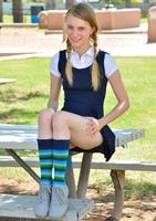 Sharlotte in Schoolgirl Style by FTV Girls (nude photo 4 of 12)