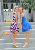 Stella and Charlotte in Doing It In Public by FTV Girls (nude photo 2 of 12)