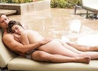 Sweet Staci Silverstone gives and receives pleasure poolside (nude photo 3 of 16)