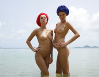 Coxy & Zaika in Turbans By Alya (nude photo 1 of 18)