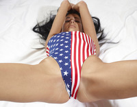 Rufina in Stars And Stripes (nude photo 6 of 18)