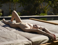 Aya Beshen in Tanning (nude photo 2 of 16)