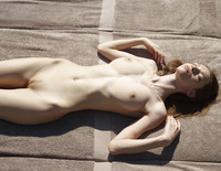 Aya Beshen in Tanning (nude photo 5 of 16)