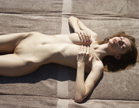 Aya Beshen in Tanning (nude photo 8 of 16)