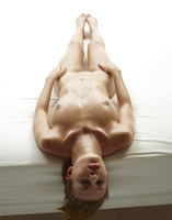 Slender naked model Katia all oiled up in studio nudes (nude photo 10 of 16)