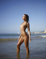 Amber in Sunset on the Beach by Hegre-Art (nude photo 16 of 16)