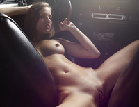 Gaby in Dodge Charger by Hegre-Art (nude photo 14 of 16)
