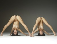 Julietta and Magdalena in Acrobatic Art by Hegre-Art (nude photo 6 of 12)