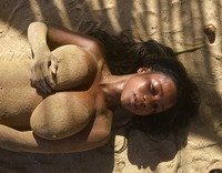 Kiky in Sand Sculptures by Hegre-Art (nude photo 10 of 12)