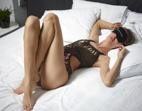 Alya in Black Mesh Swimsuit by Hegre-Art (nude photo 2 of 16)