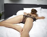 Alya in Black Mesh Swimsuit by Hegre-Art (nude photo 6 of 16)