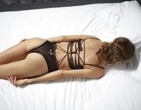 Alya in Black Mesh Swimsuit by Hegre-Art (nude photo 8 of 16)