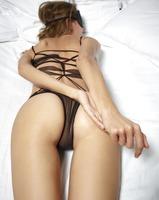 Alya in Black Mesh Swimsuit by Hegre-Art (nude photo 9 of 16)