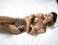 Alya in Black Mesh Swimsuit by Hegre-Art (nude photo 12 of 16)