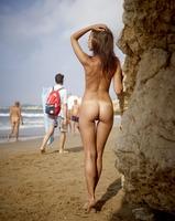 Karina in Ibiza Nude Beach by Hegre-Art (nude photo 9 of 16)