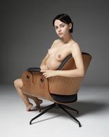 Ariel in Barcelona Armchair by Hegre-Art (nude photo 7 of 12)