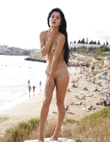 Belle in Public Nudity by Hegre-Art (nude photo 7 of 12)