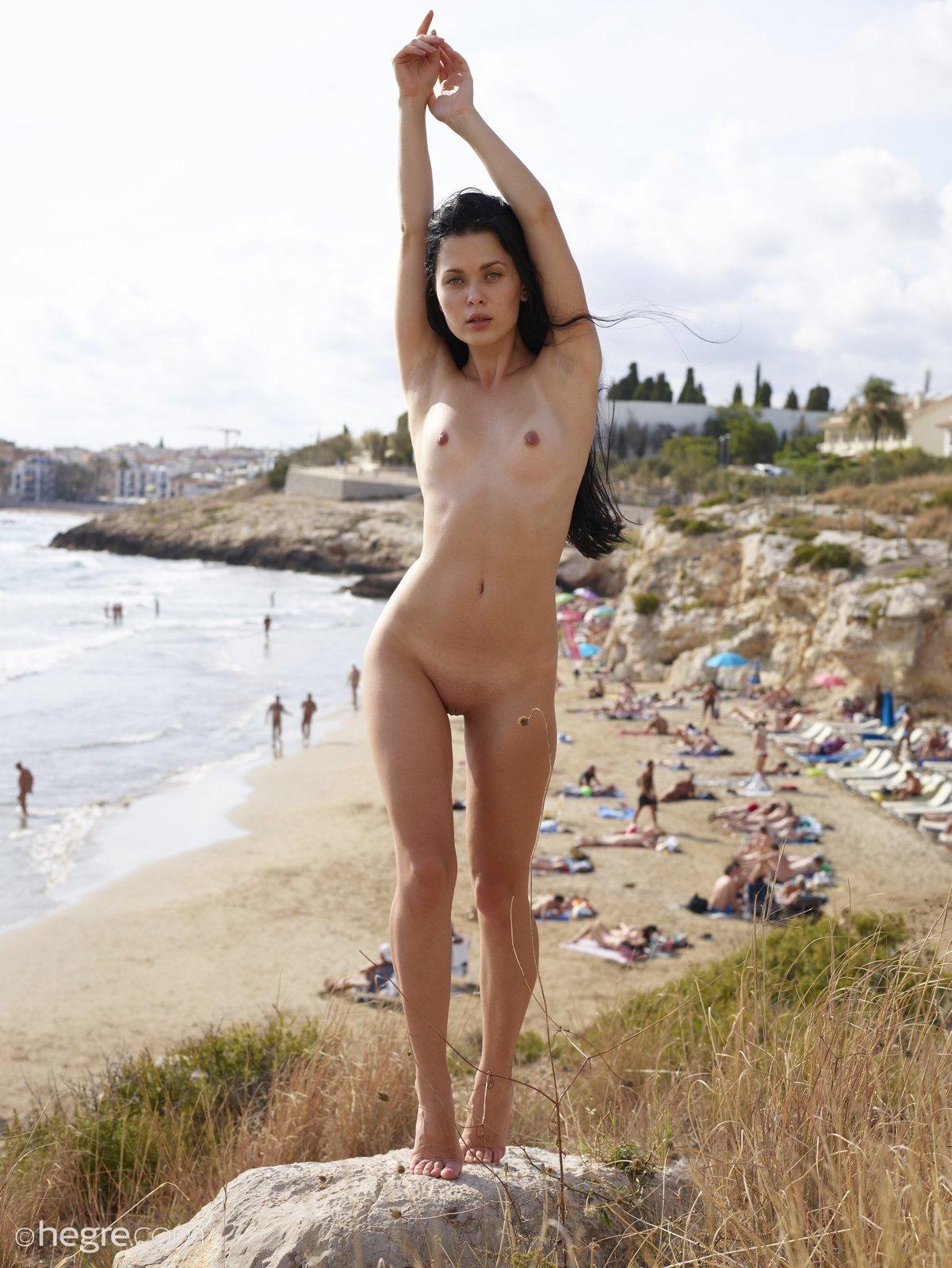 Belle In Public Nudity By Hegre-Art 12 Photos  Erotic -9896