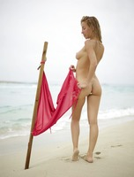 Natalia A in Danger On The Beach by Hegre-Art (nude photo 5 of 12)