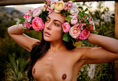 12 Pics: Whitney Wright in Flower Princess by Holly Randall