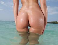 Nikita at the Beach (nude photo 7 of 15)