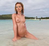 Nikita at the Beach (nude photo 11 of 15)
