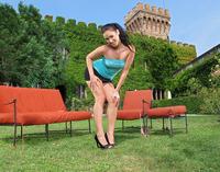 Betty Masturbating Outdoors (nude photo 1 of 16)