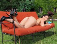 Betty Masturbating Outdoors (nude photo 10 of 16)