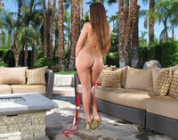 Abby Cross Toying Outdoors (nude photo 10 of 16)