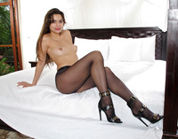 Carol Luna in Pantyhose Closeups by In The Crack (nude photo 9 of 15)