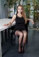 Lena Paul in Pantyhose Pleasure by In The Crack (nude photo 1 of 15)