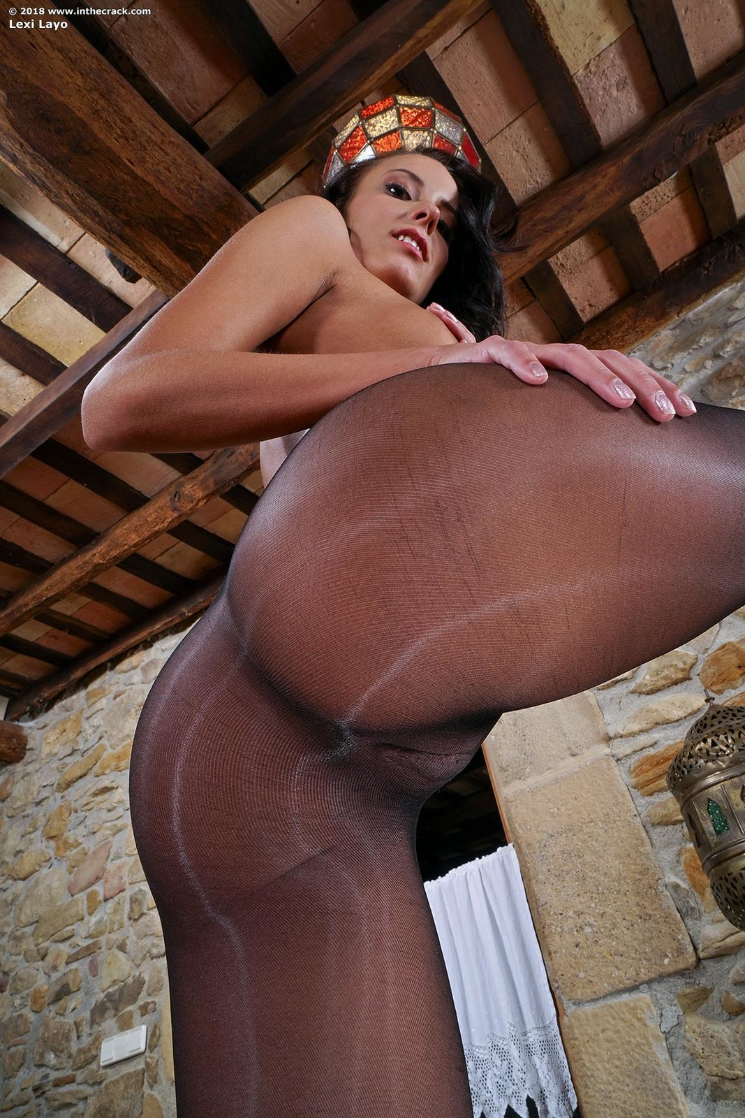 Lexi Layo In Pantyhose Toying By In The Crack 15 Photos -6958