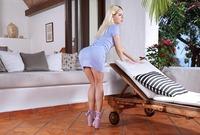 Bella Rose in Pink Heels & Panties by In The Crack (nude photo 2 of 15)