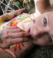Selfshot Teen Painting (nude photo 12 of 16)