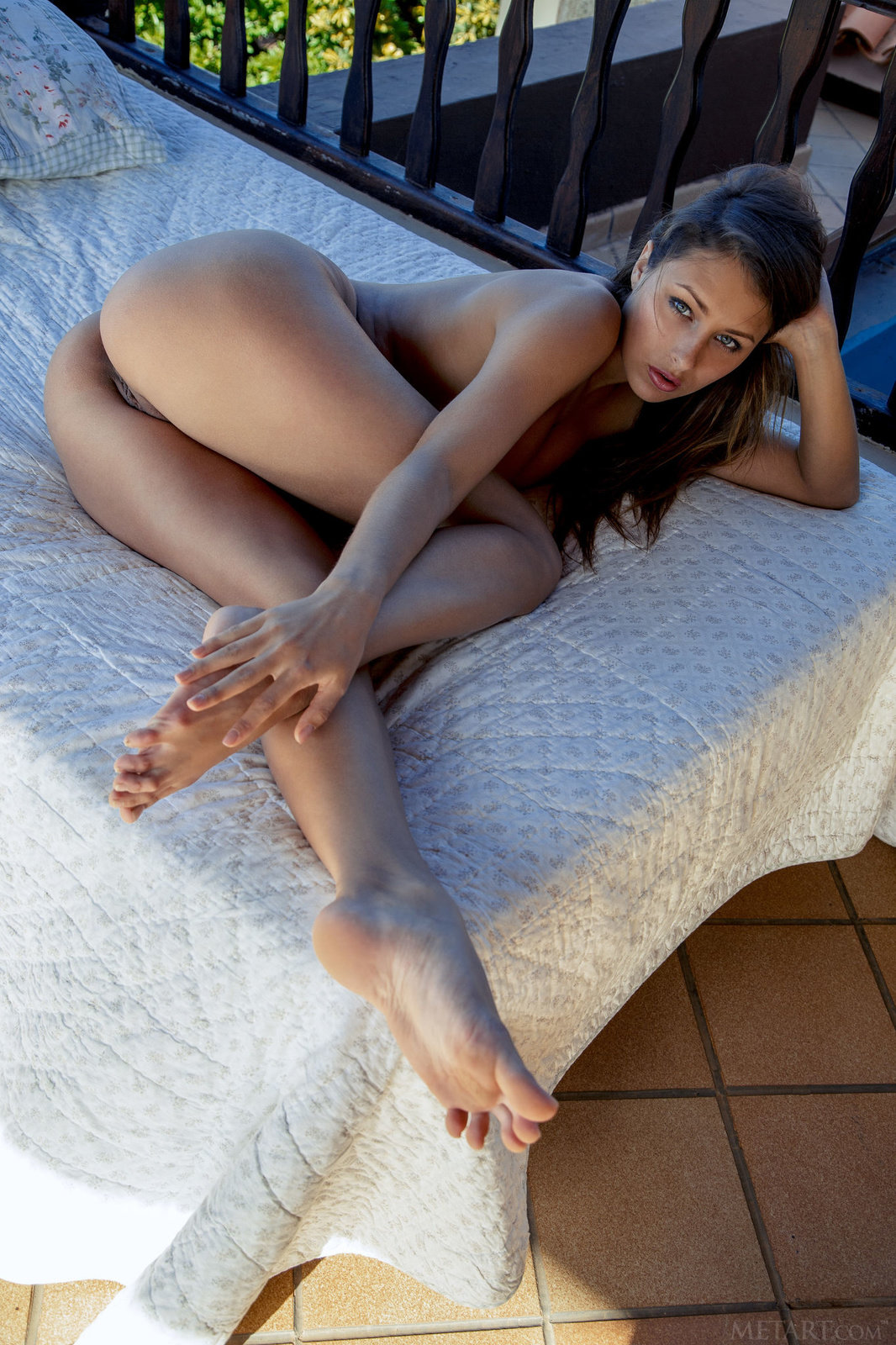Alyssia kent hot brunette beauty in pov action - 3 part 5