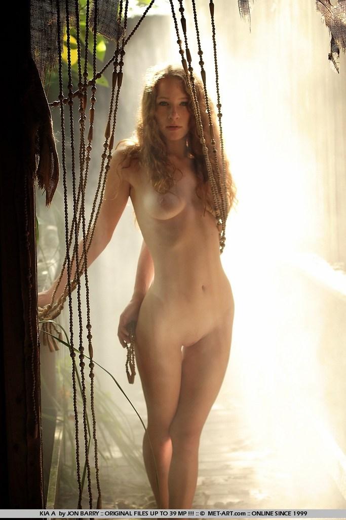 Naked Girl In Jungle