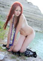 Perky erotic redhead Nalli (nude photo 5 of 16)