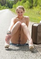 Faina Bona in Hitchhiker by Met-Art (nude photo 14 of 16)