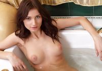 Mira in Bath Time (nude photo 8 of 12)