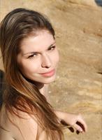 Olesya in Sandstone Beach (nude photo 4 of 12)