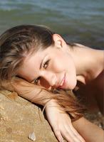 Olesya in Sandstone Beach (nude photo 9 of 12)