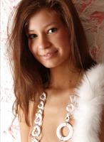 Petite erotic teen Lidija (nude photo 1 of 12)