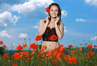 Alma in Smiling Poppies by MPL Studios (nude photo 2 of 16)