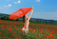 Alma in Smiling Poppies by MPL Studios (nude photo 7 of 16)