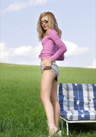 Lilya in Green Grass Forever by MPL Studios (nude photo 2 of 16)